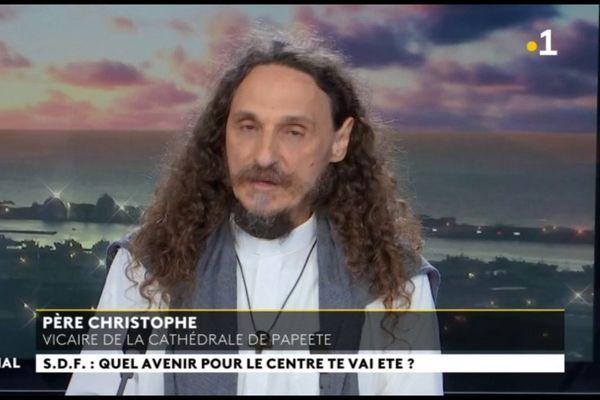 Invité du journal : Père Christophe, Invité du Journal