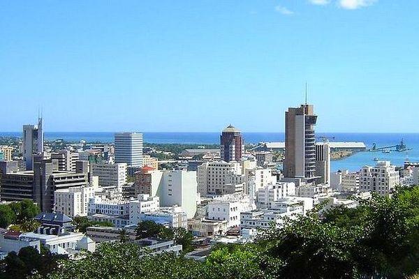 Port-Louis quartier des affaires