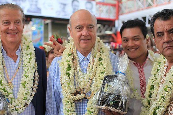Alain Juppé en Polynésie