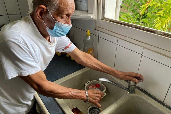 Grève SIAEAG robinet à sec, pas d'eau
