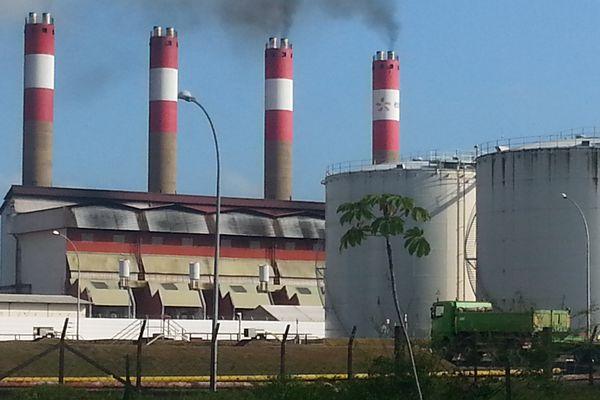 La centrale électrique du Dégrad des Cannes