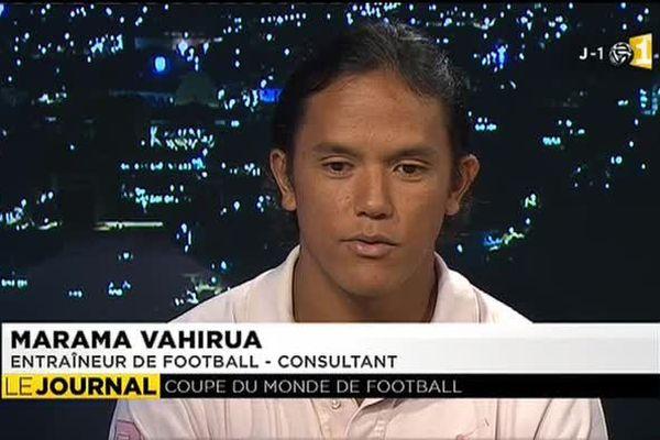 Pronostic de Marama Vahirua : Brésil 3 - Croatie 0. Et vous ?