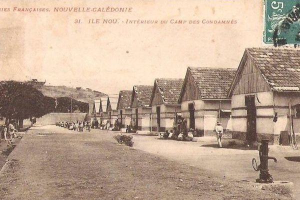 Camp de l'île Nou, en Nouvelle-Calédonie