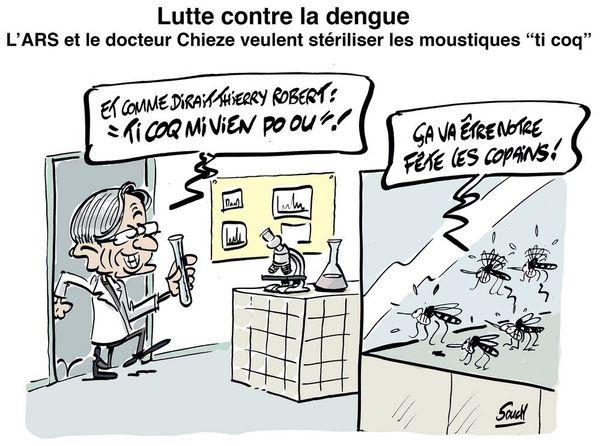 Le dessin de Souch : moustique