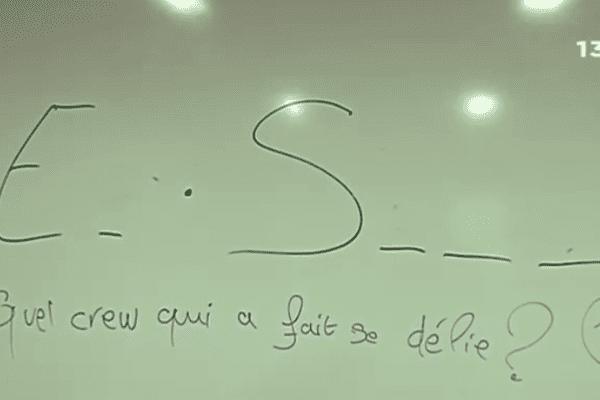 Collège vandalisé