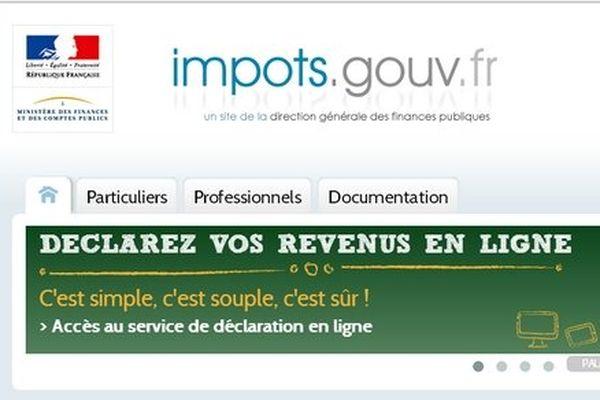 déclaration des impôts en ligne