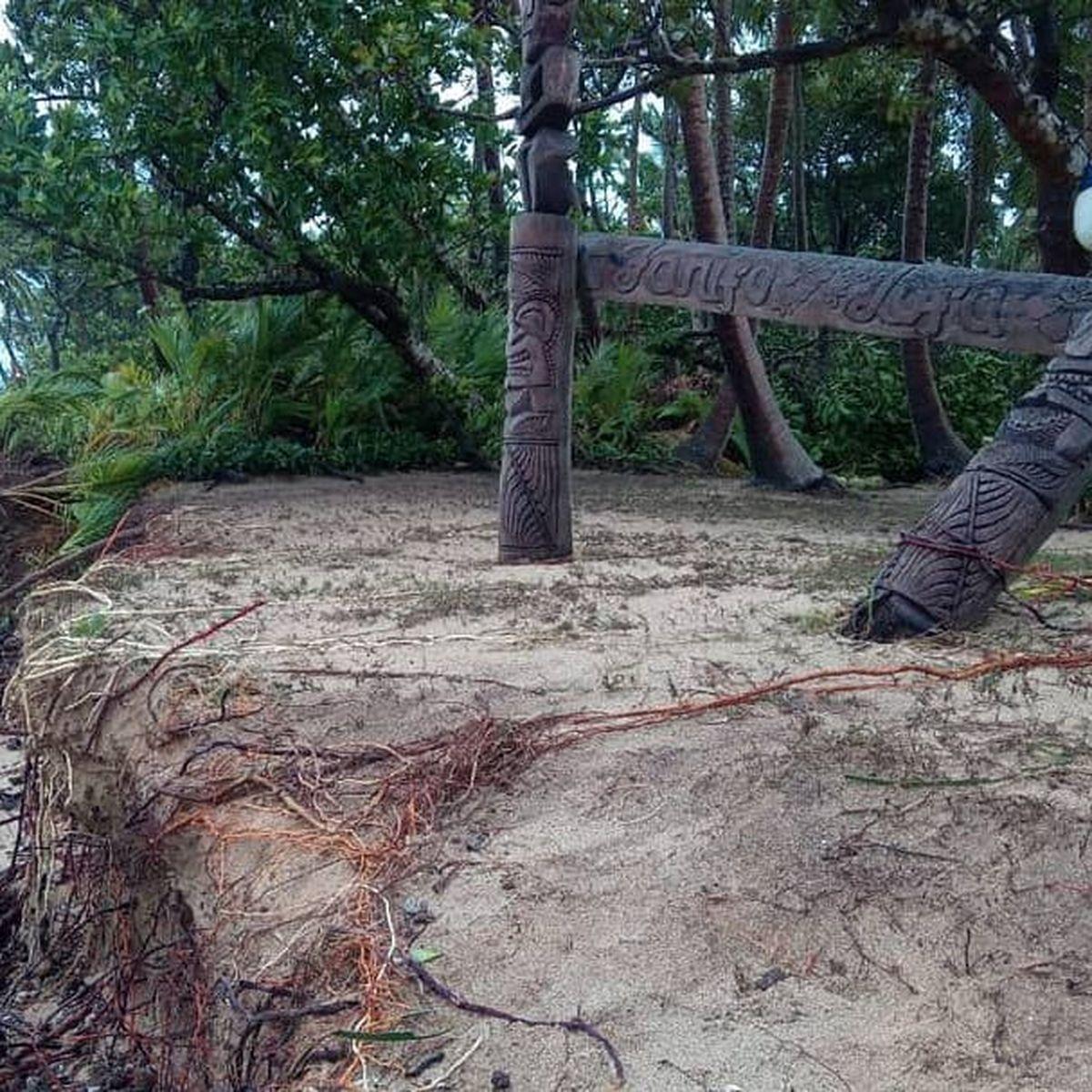 Tino a secoué le Nord de Tonga, mais épargné l'île principale