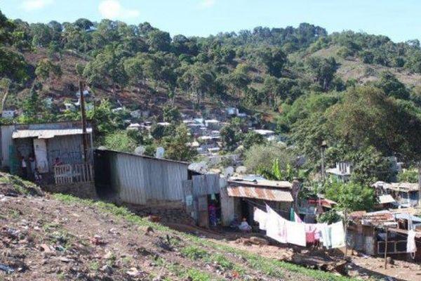 Bidonvilles à Mayotte