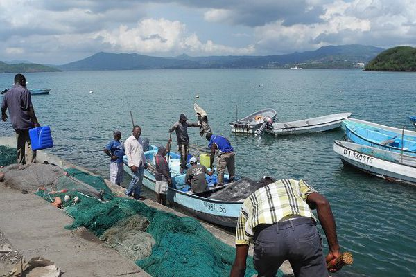 préparation barques de pêche