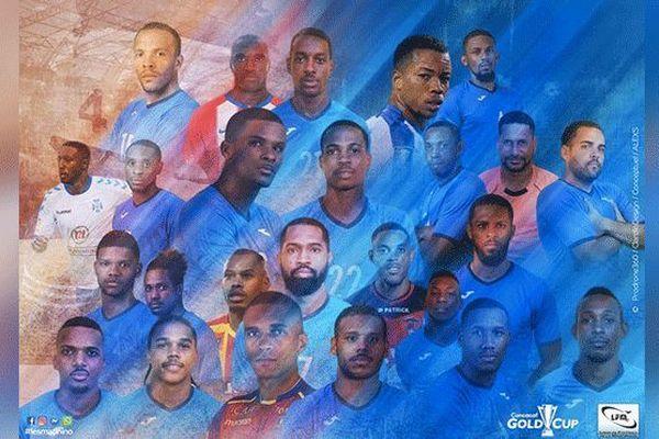 Le groupe de la Martiniqu