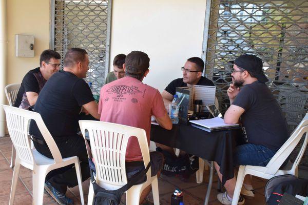 Week-end geek 2020, maison des artisans, Nouméa, tournoi de jeu de rôle, 15 novembre 2020