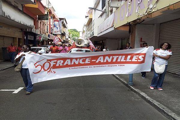 Banderolle France-Antilles