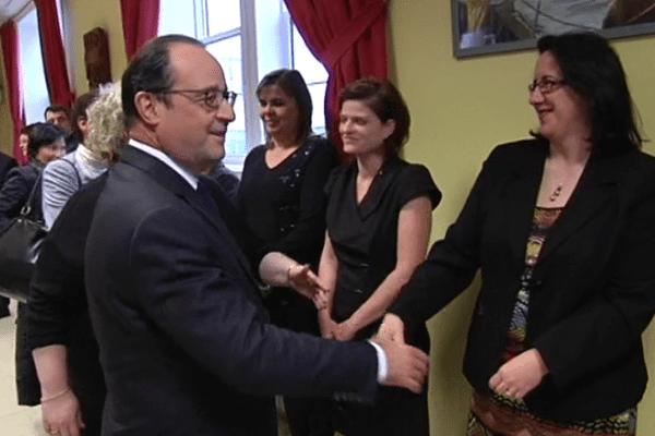 rencontre Hollande élus