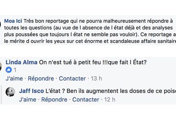 Post Facebook État