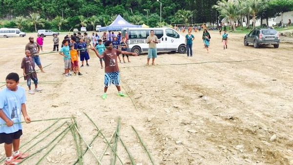 Coupe Tjibaou 2019, lancer de sagaïe, premier jour