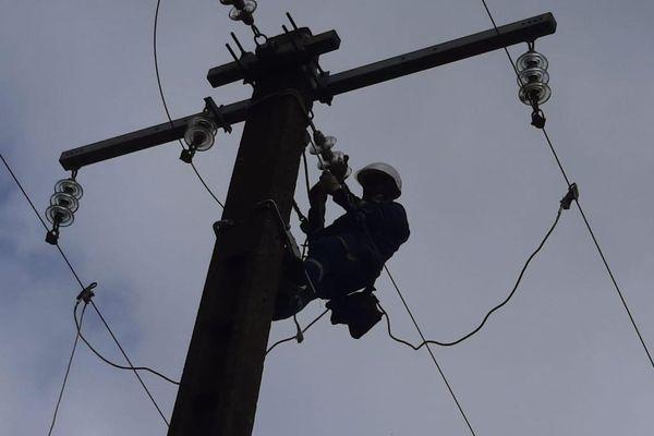 agent EDF réparation électricité
