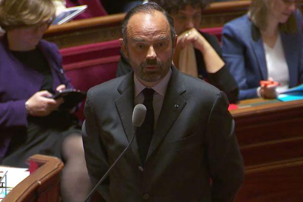 Edouard Philippe au sénat le 8 novembre 2018