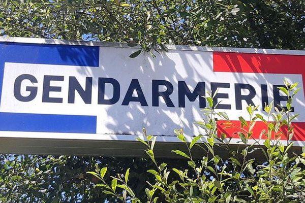 Plaque gendarmerie