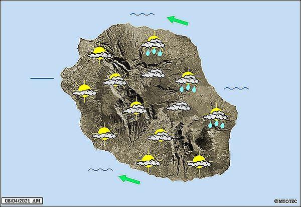 Carte météo 8 avril 2021