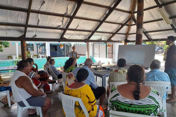 Atelier à Futuna
