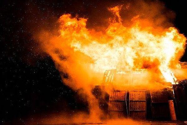 Incendie dune maison de policier à Madagascar