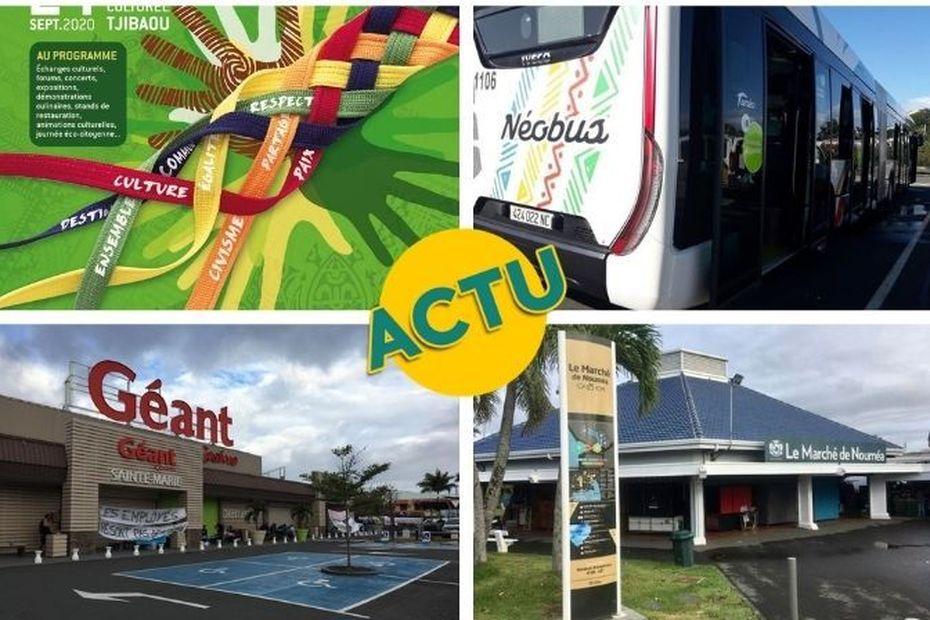 Fête de la citoyenneté, Tanéo, Géant-Sainte-Marie, marché : l'actu à la 1 du 24 septembre 2020 - Nouvelle-Calédonie la 1ère