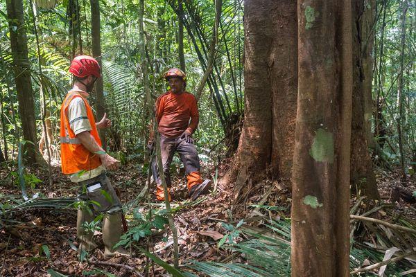 Les femmes et les hommes de l'ONF Guyane