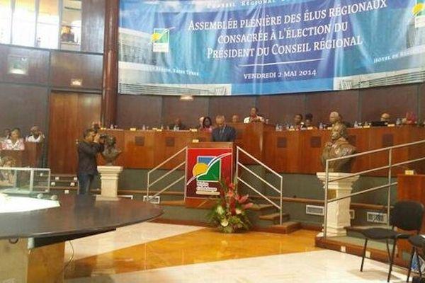 hémicycle du conseil régional