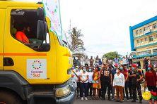 28 278 tonnes de vivres sont convoyées par la route vers le Sud de Madagascar. Les poids lourds se sont mis en route jeudi.