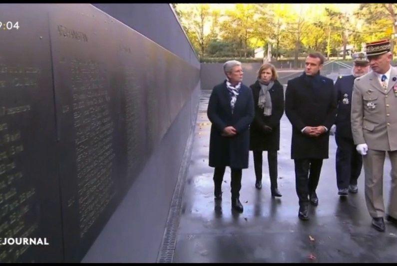 Armistice : un monument national en honneur aux militaires morts en opération