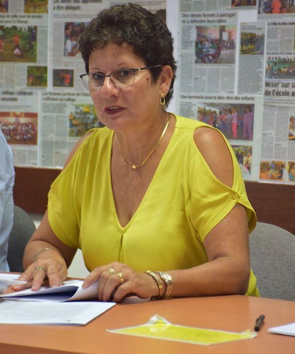 Yolande Verlaguet, sa dernière rentrée comme directrice enseignementNC