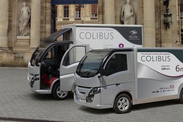 """Camion de livraison électrique : """"Colibus"""" débarque"""