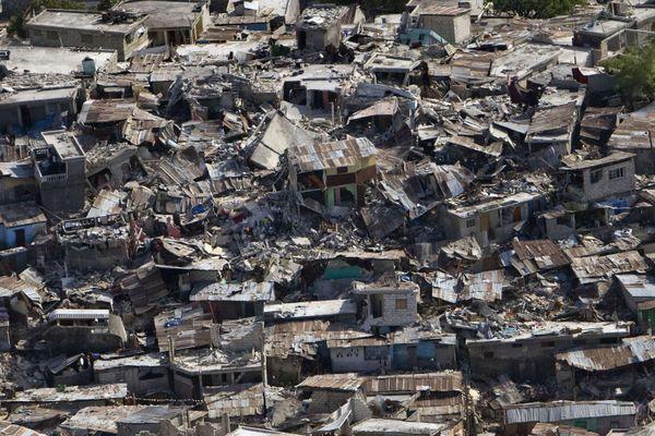 Ruine Haiti