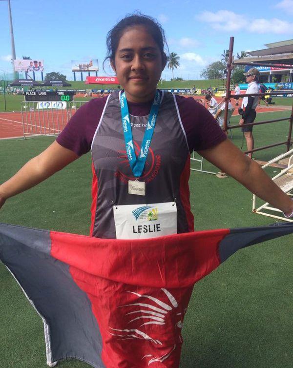 Leslie Filituulaga argent javelot Oécéania athlétisme Fidji 2017