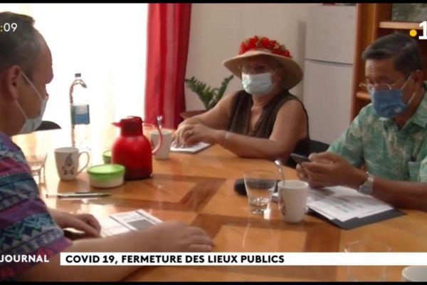 Les maires de Raiatea face au covid