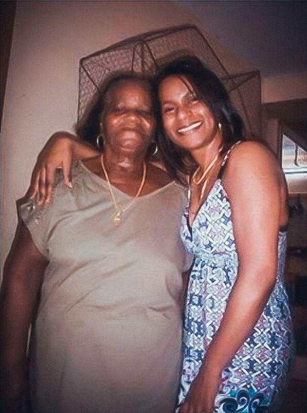 Christina Larade et sa mère
