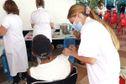 Covid-19 : forte affluence aux centres de vaccination