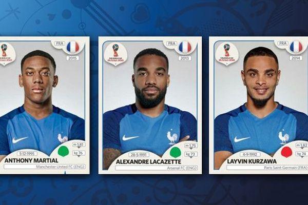 Mondial 2018: Martial, Lacazette, Kurzawa, ces joueurs d'Outre-mer qui ont séduit Panini, pas Deschamps