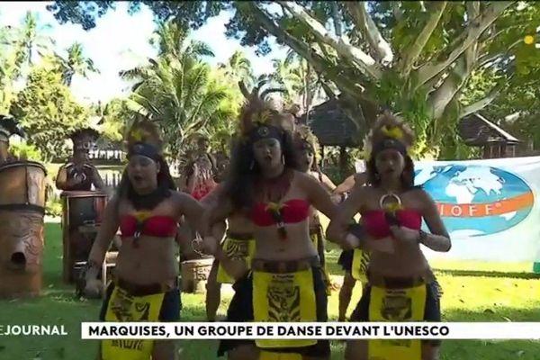 Un groupe marquisien à l'UNESCO