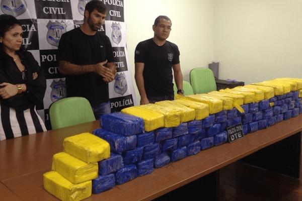 Saisie de drogue à Macapa