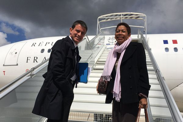 Manuel Valls et George Pau Langevin