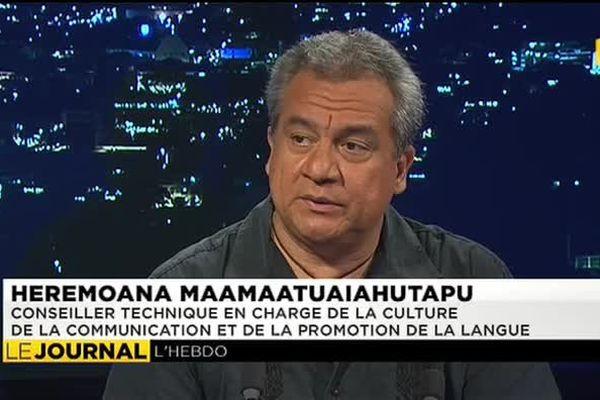 L'invité du journal : Heremoana Maamaatuaiahutapu