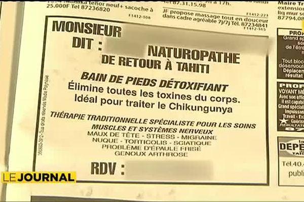 Chikungunya : gare aux remèdes douteux