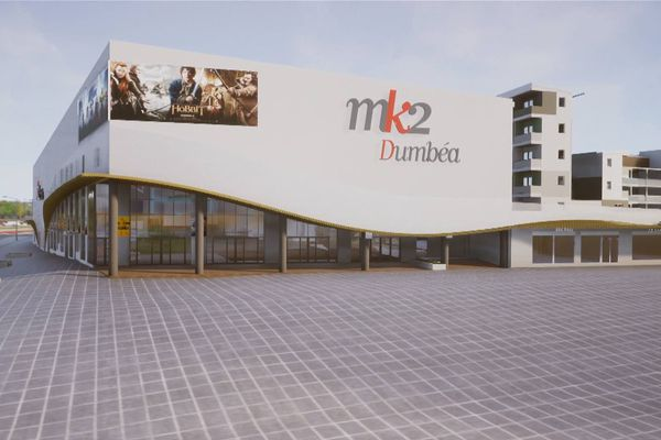 un cinéma multiplex : MK2 Dumbéa