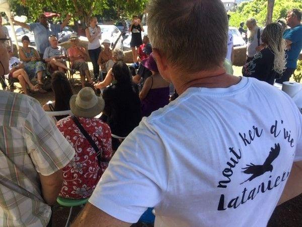 création collectif contre la digue de la NRL 190119