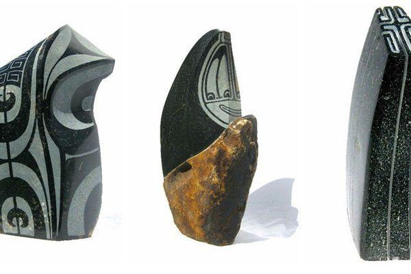 Jonathan Mencarelli expose ses sculptures...
