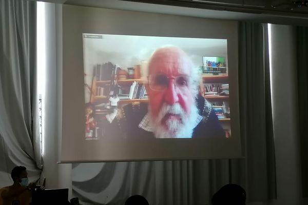 Visioconférence lycée Tsararano Michel Mayor