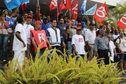 Les grévistes des CHU de La Réunion organisent des barrages filtrants