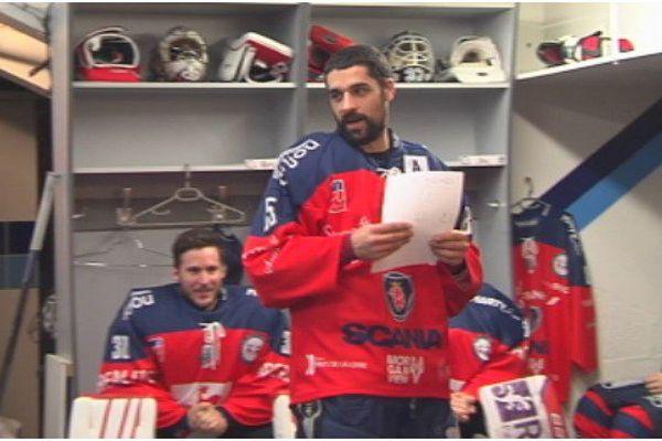 Garry Lévèque, un hockeyeur Saint-Pierrais chez les Ducs d'Angers [PORTRAITS]