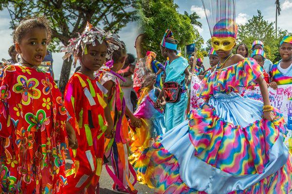 Carnaval des écoles à Fort de France